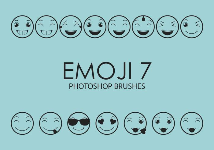 emoji photoshop brosses 7