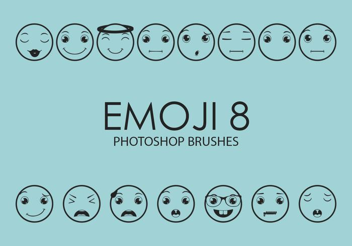 Emoji Photoshop Brushes 8