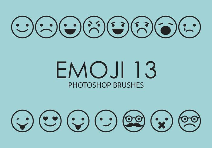 Emoji Photoshop Brushes 13