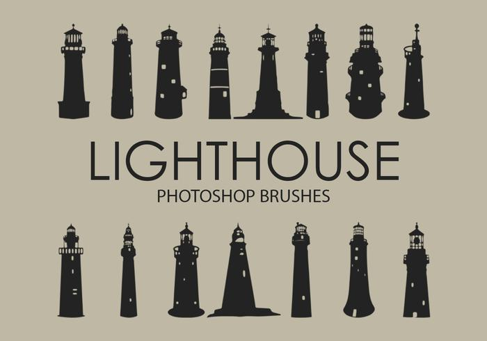 Lighthouse Pinceles para Photoshop