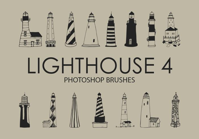 Lighthouse Photoshop Brushes 4