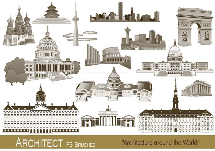 20 Architect PS Brushes.abr vol.4