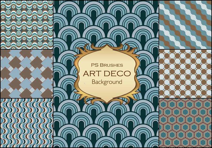 20 art deco background ps brushes.abr vol.2