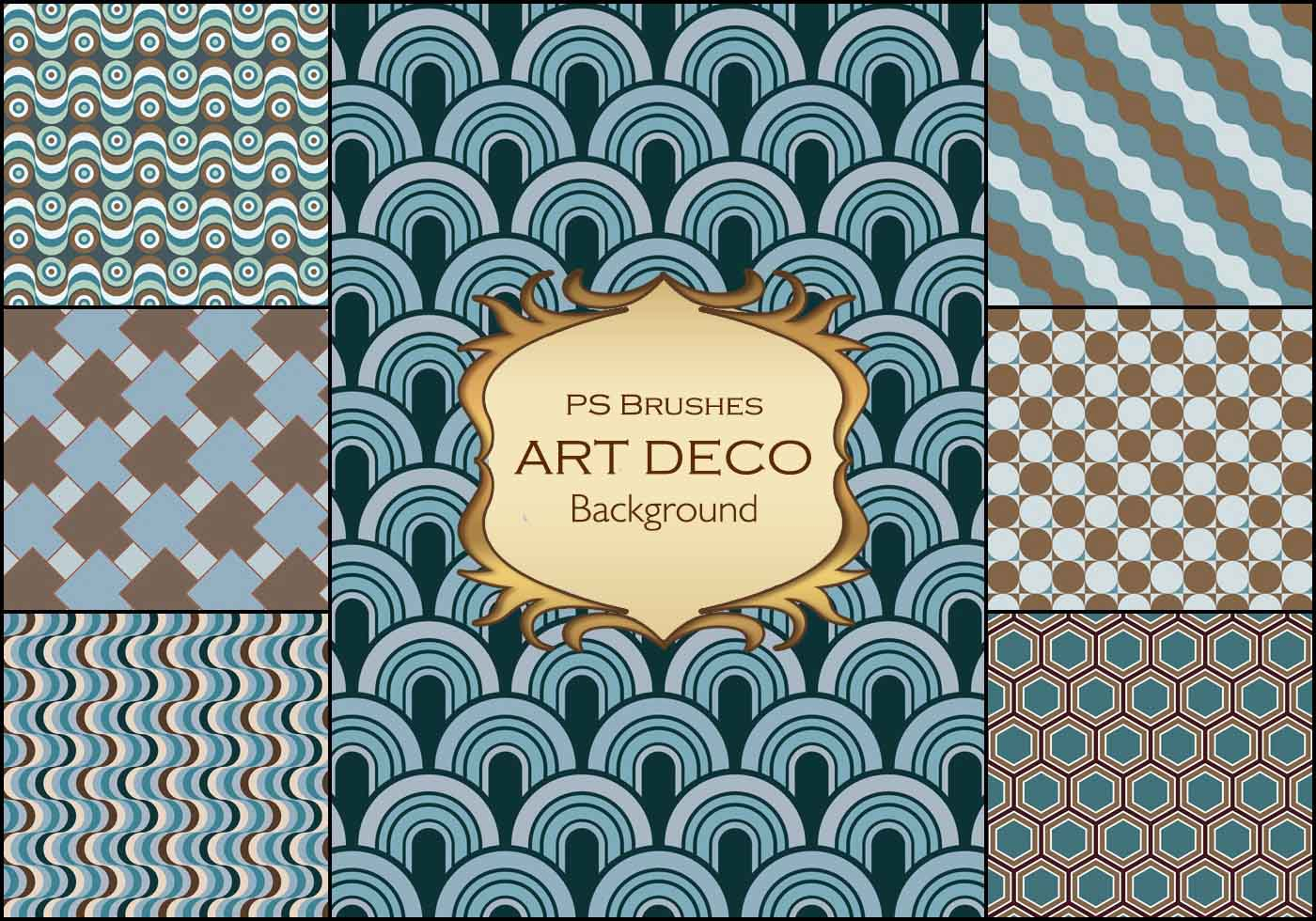 20 art deco background ps vol 2 free photoshop brushes at brusheezy - Deco vol ...