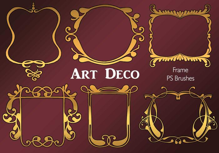 20 art-decokader ps brushes.abr vol.4