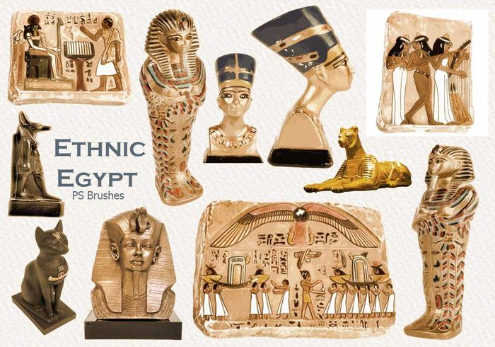 20 Ethnic Egypt PS Brushes abr. vol.27