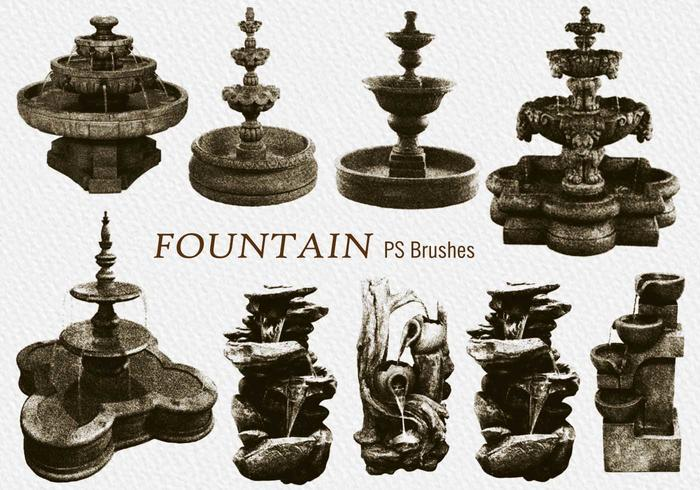 20 Vintage Fountain PS Brushes.abr vol.2