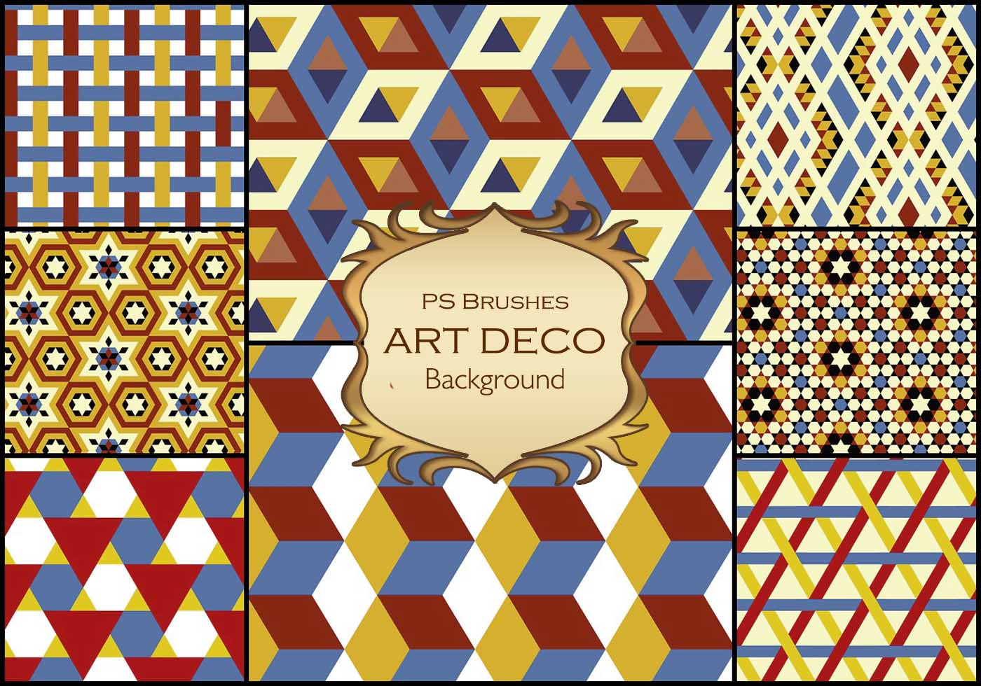 20 art deco background ps vol 6 free - What is art deco ...