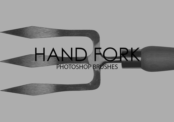 Hand Fork Photoshop Brushes