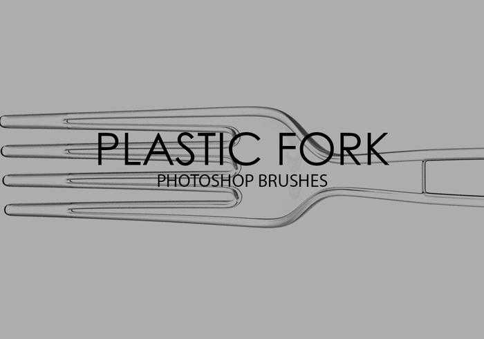 Plastic Fork Photoshop Brushes
