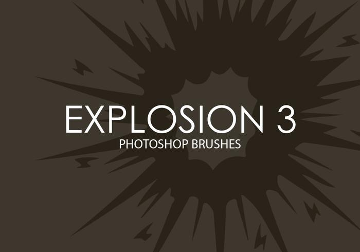 Explosão Photoshop Brushes 3