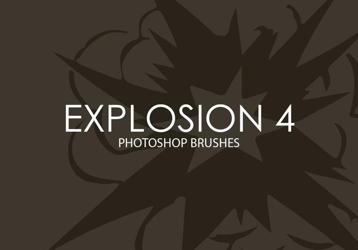 Explosão Photoshop Brushes 4
