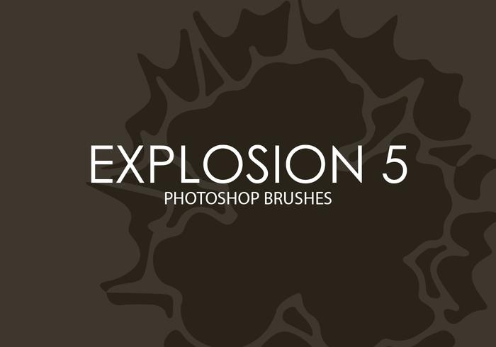 Explosion Photoshop Brushes 5