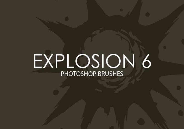 Explosion Photoshop Brushes 6