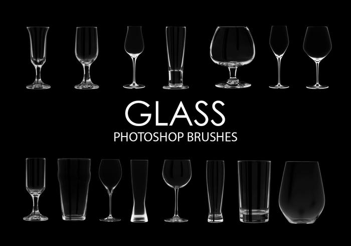 Glass Photoshop Brushes