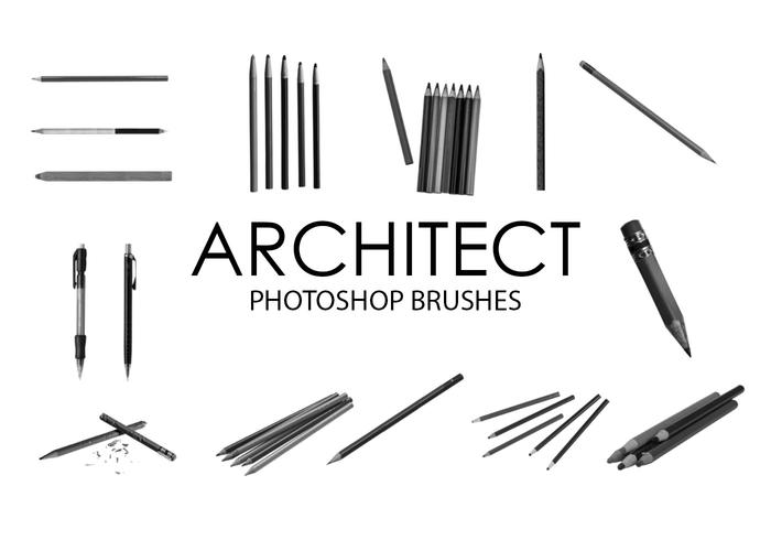 Architekt Photoshop Pinsel