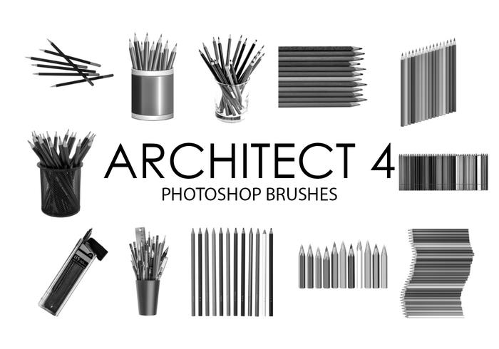 Architecte Photoshop Pinceaux 4