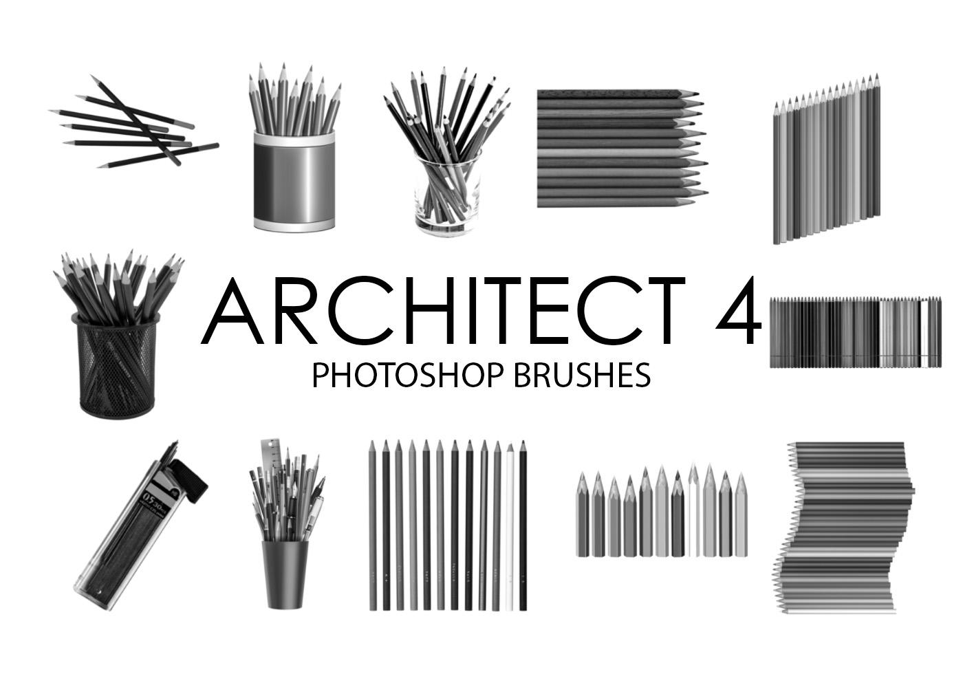 architect photoshop brushes 4