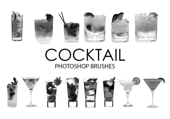 Cepillos de Photoshop Cocktail