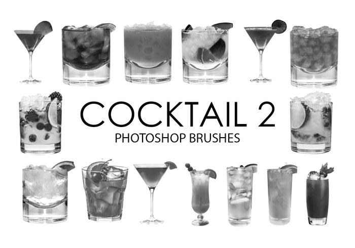 Cocktail Photoshop Pinsel 2