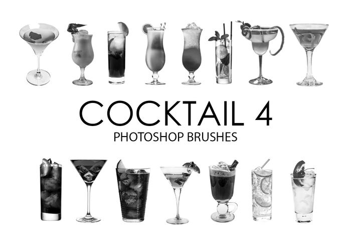 Cocktail Photoshop Brushes 4