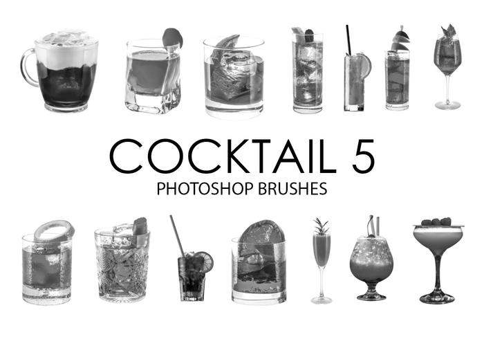 Cocktail Photoshop Brushes 5