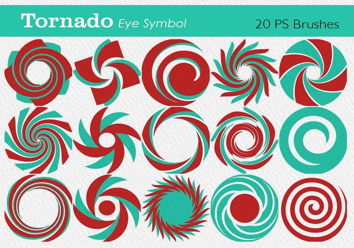20 Tornado-oogsymbool PS-borstels abr. vol.9