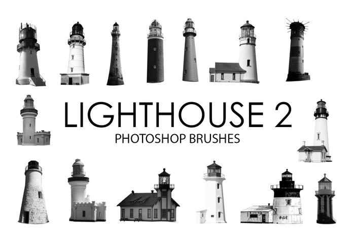 Lighthouse Photoshop Brushes 2