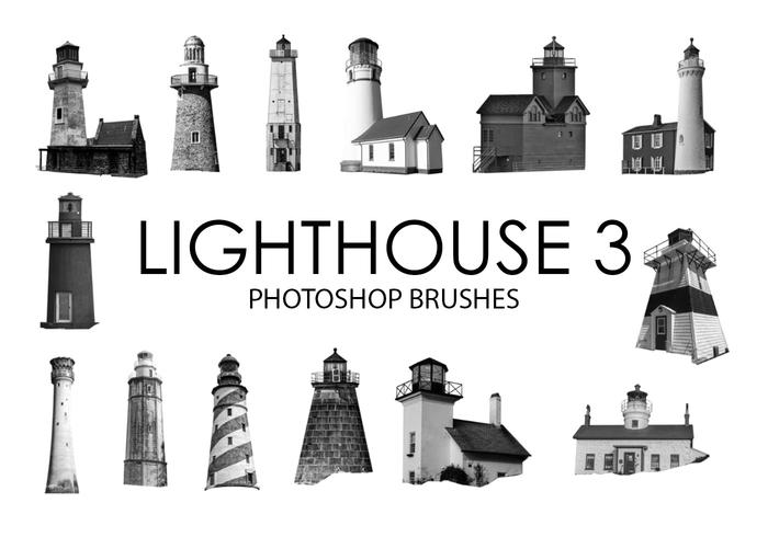 Lighthouse Photoshop Brushes 3