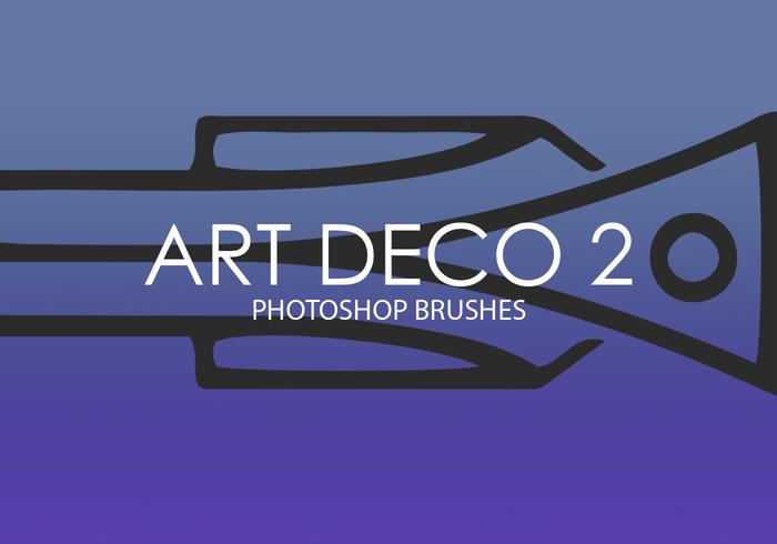 Art Deco Photoshop Brushes 2