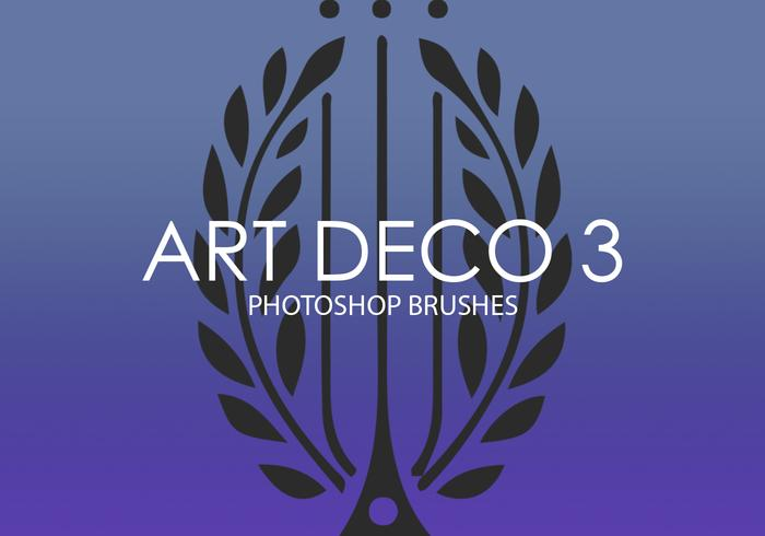 Art Deco Photoshop Brushes 3