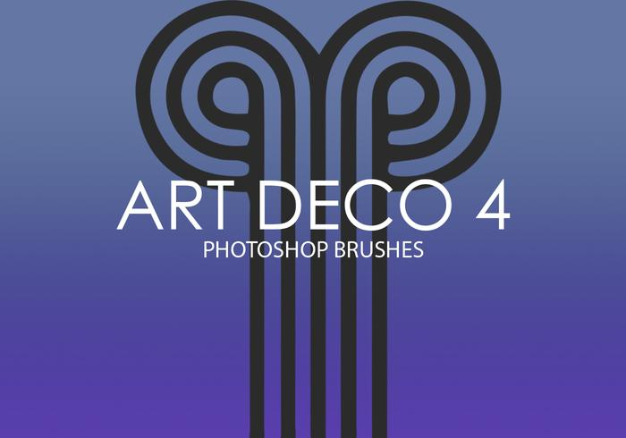 Art Deco Photoshop-penselen 4