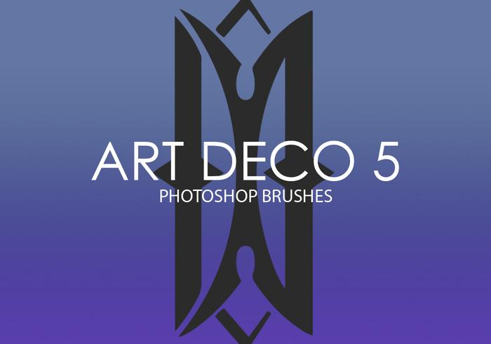 Art Deco Photoshop Brushes 5