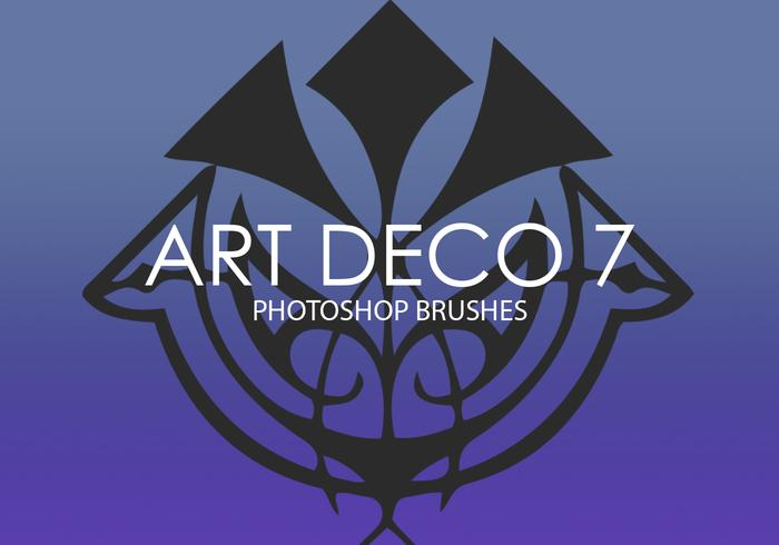Art Deco Photoshop Brushes 7