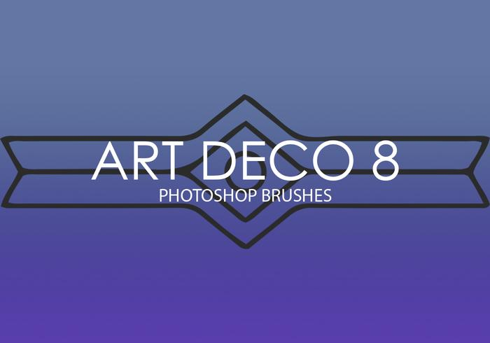 Art Deco Photoshop Brushes 8