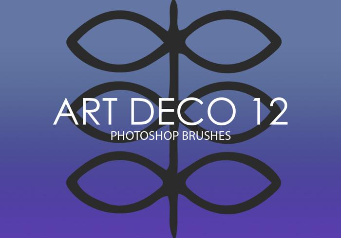 Art Deco Photoshop Brushes 12