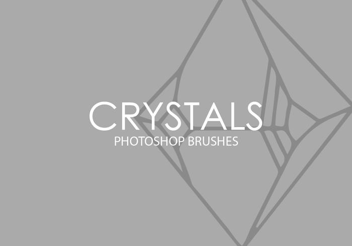 Crystals Photoshop Brushes
