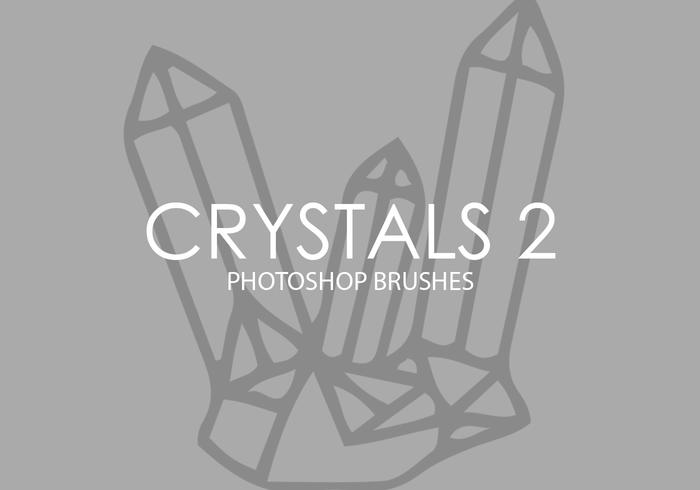 Cristais Photoshop Brushes 2