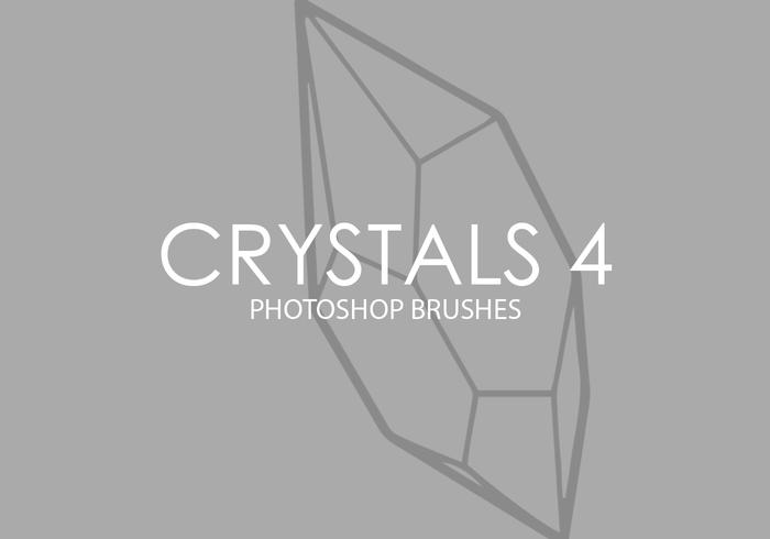 Crystals Photoshop Brushes 4