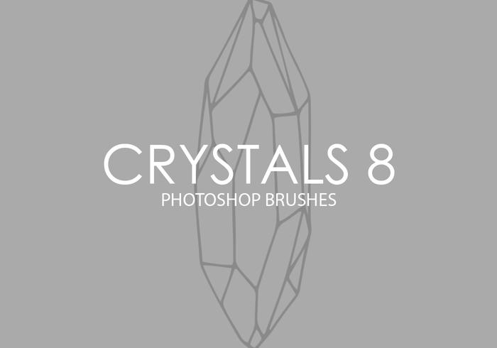 Crystals Photoshop Brushes 8