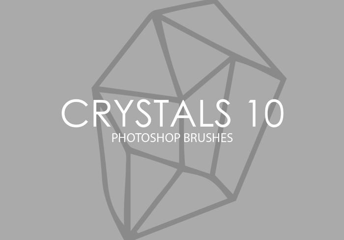 Crystals Photoshop Brushes 10