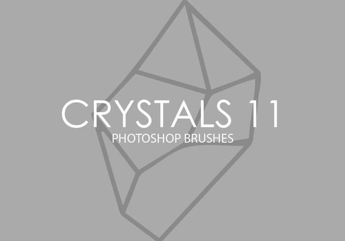 cepillos de photoshop de cristales 11