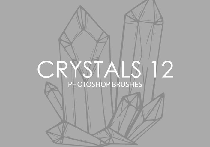 Crystals Photoshop Brushes 12