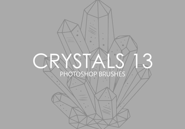 Crystals Photoshop Brushes 13