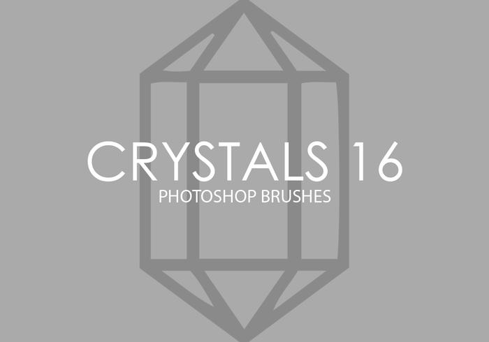 Crystals Photoshop Brushes 16