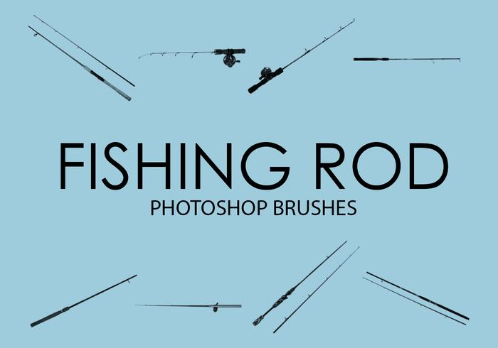 Free Fishing Rod Photoshop Brushes 1