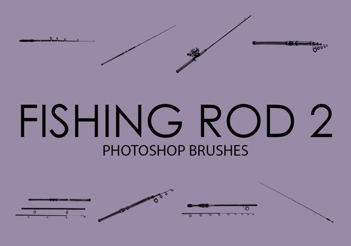 Free Fishing Rod Photoshop Brushes 2