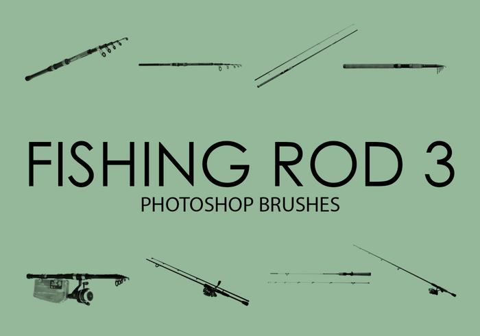 Free Fishing Rod Pinceles para Photoshop 3