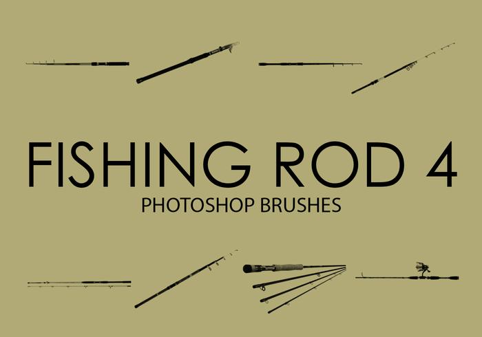 Free Fishing Rod Photoshop Brushes 4