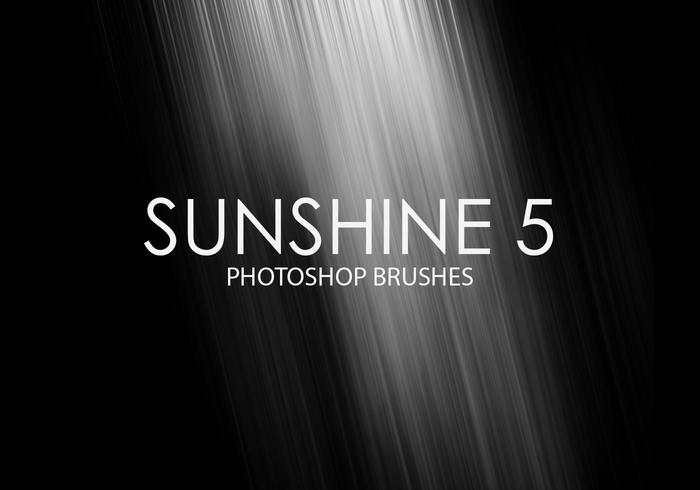 Gratis Sunshine Photoshop-penselen 5